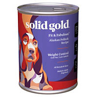 Solid Gold Fit & Fabulous Pollock Weight Management Canned Dog Food