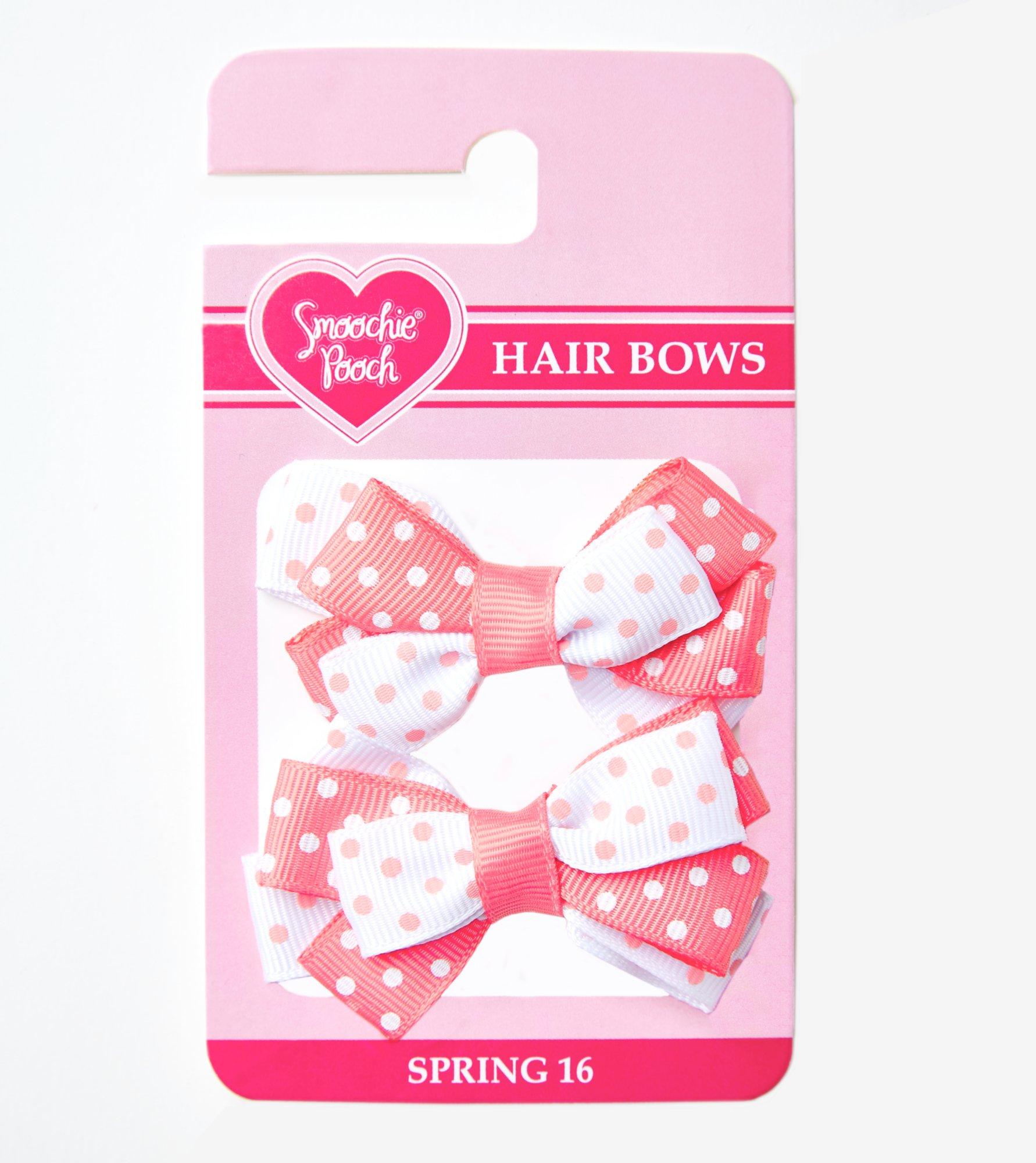 Smoochie Pooch Pink Loopy Bows