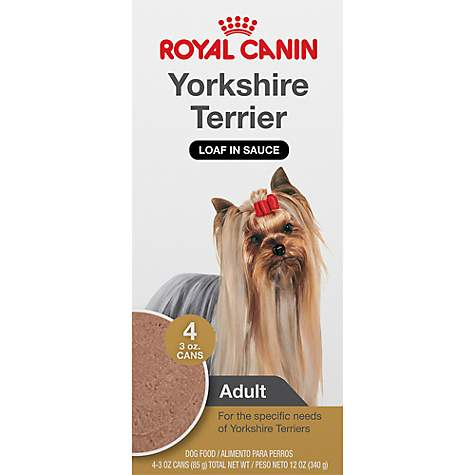 royal canin breed health nutrition yorkshire terrier loaf in sauce dog food multipack petco. Black Bedroom Furniture Sets. Home Design Ideas
