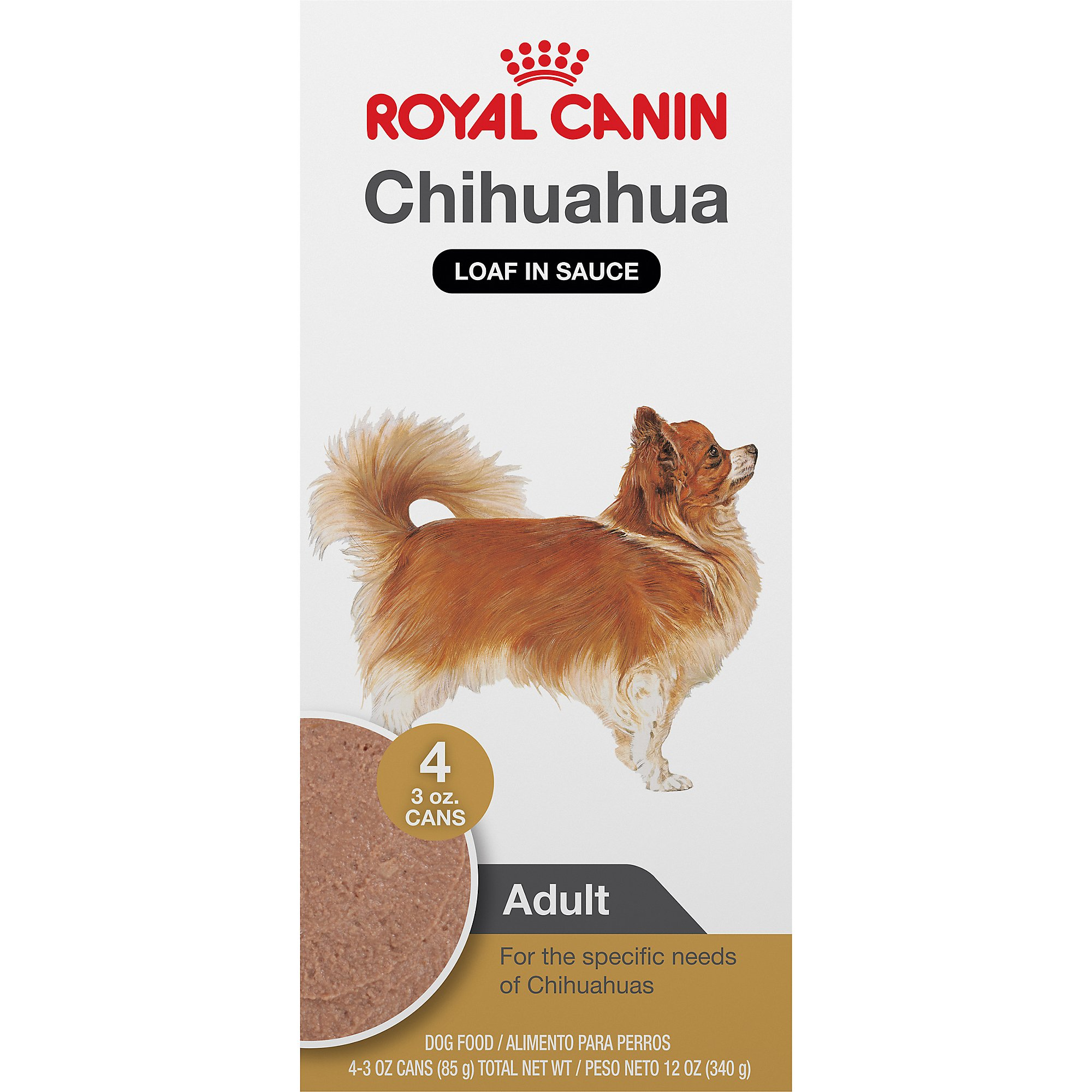 Royal Canin Breed Health Nutrition Chihuahua Loaf In Sauce Dog Food Multipack | Petco