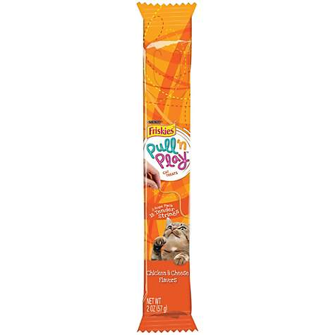 Friskies Pull N Play Tender Strings Cat Treat