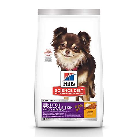 Hills Science Diet Adult Sensitive Stomach & Skin Small & Toy Breed dog food