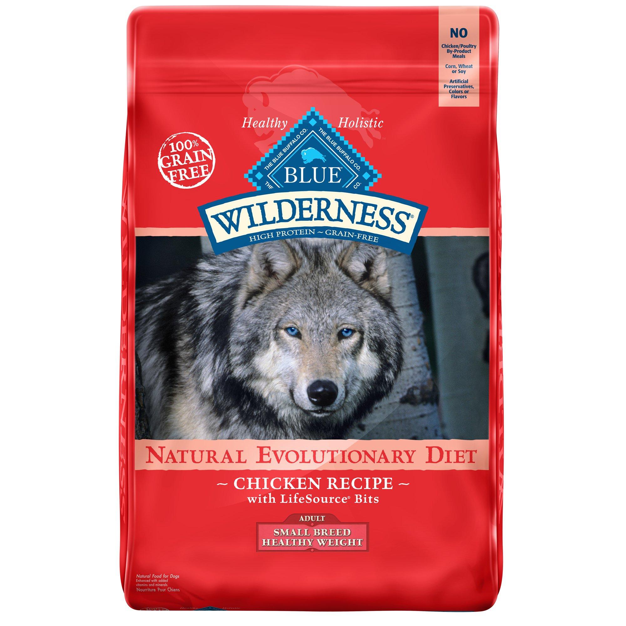 Blue Buffalo Blue Wilderness Healthy Weight Chicken Recipe