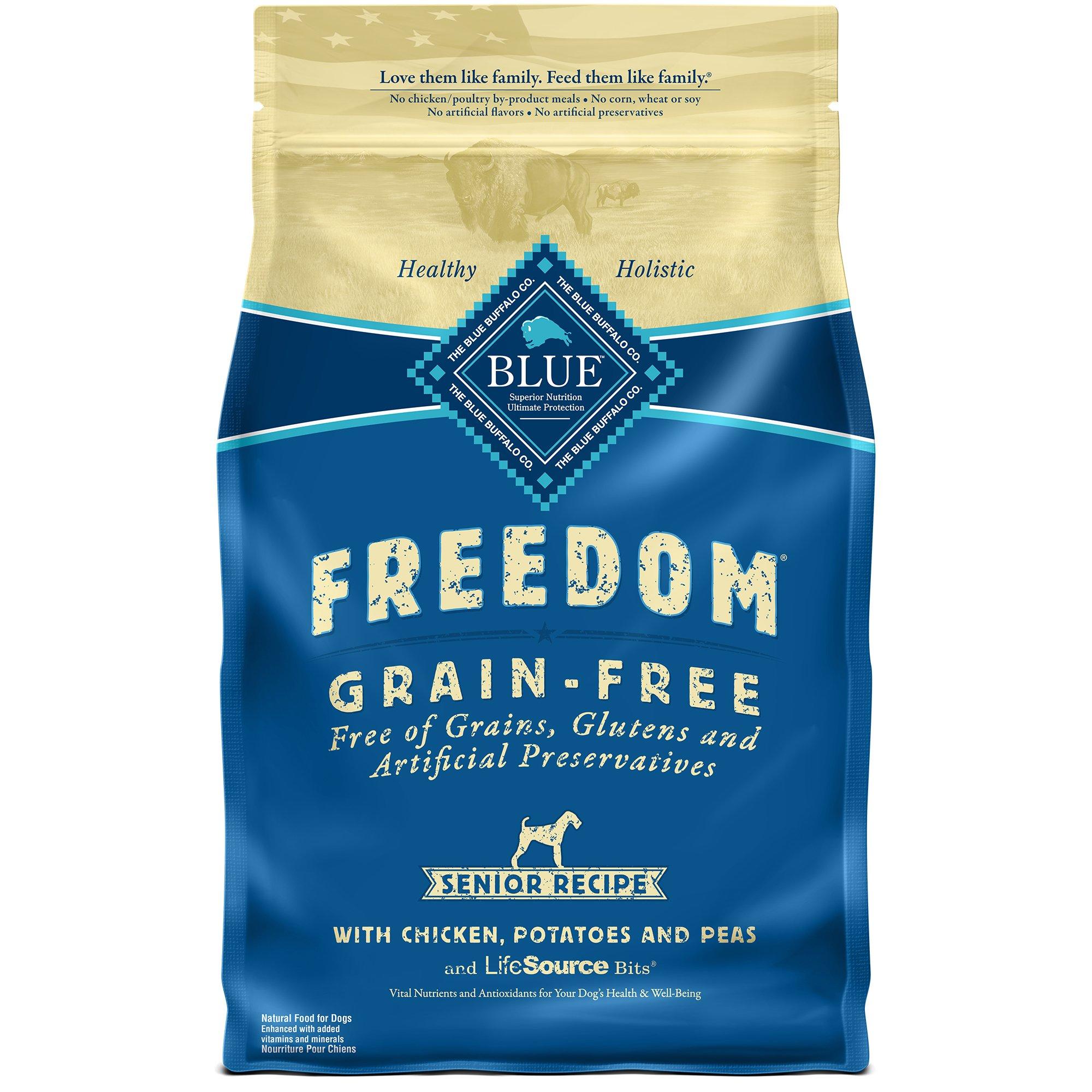 Blue Buffalo Freedom Grain Free Senior Dog Food