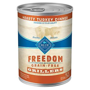 Blue Buffalo Blue Freedom Grain-Free Grillers Hearty Turkey Dinner Adult Wet Dog Food