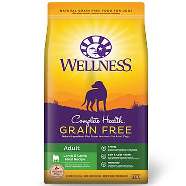 Wellness Complete Health Grain Free Adult Lamb & Lamb Meal Recipe Dry Dog Food
