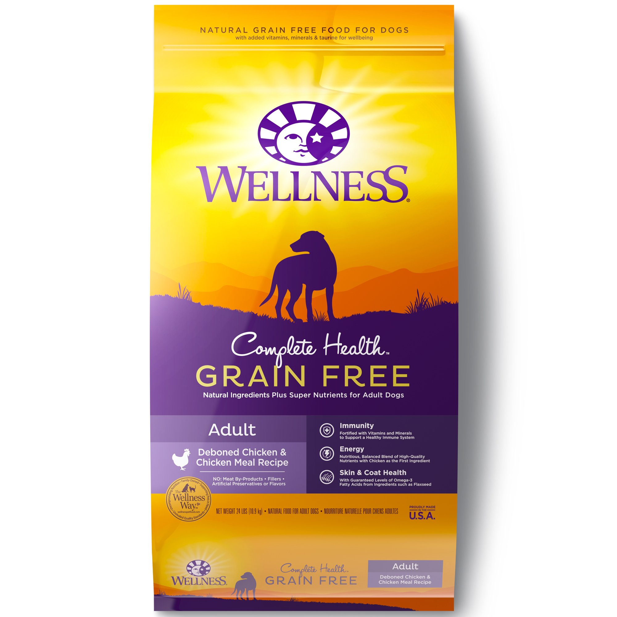 Wellness Complete Health Natural Grain Free Adult Deboned