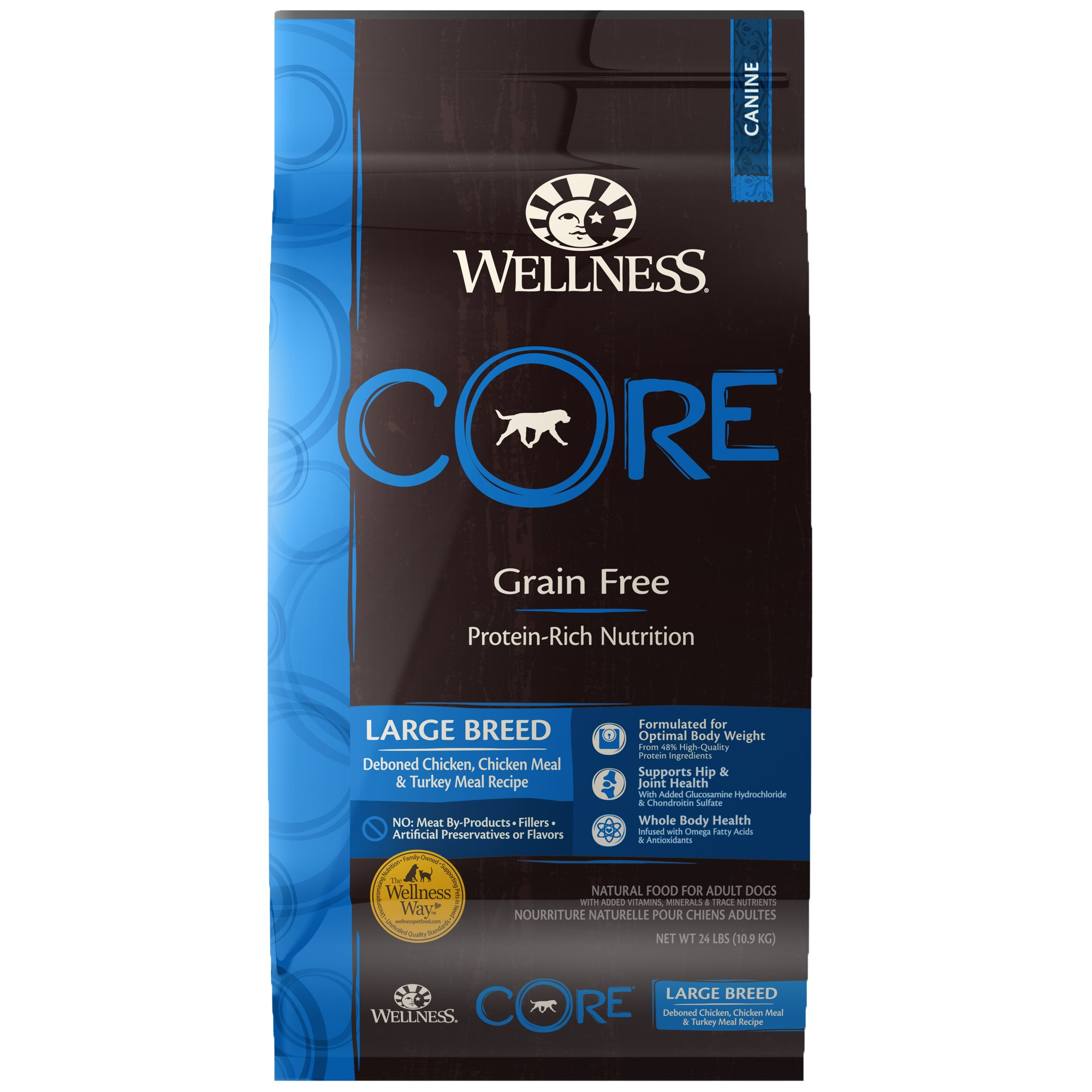 Wellness Core Natural Grain Free Large Breed Original Dry