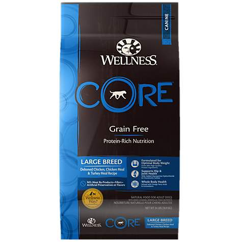 Wellness CORE Natural Grain Free Large Breed Original Dry Dog Food
