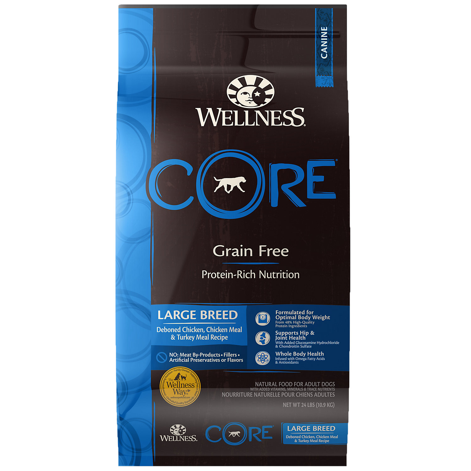 076344884545 Upc Wellness Core Large Breed Dry Dog Food