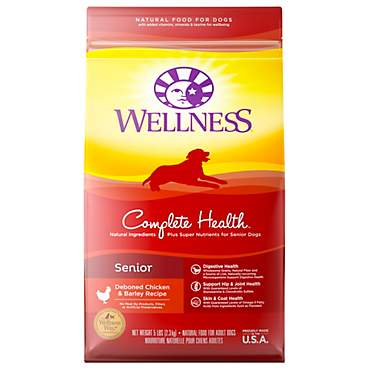 Wellness Complete Health Natural Senior Recipe Dry Dog Food