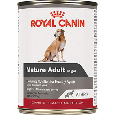 Royal Canin Canine Health Nutrition Mature Adult In Gel Wet Dog Food