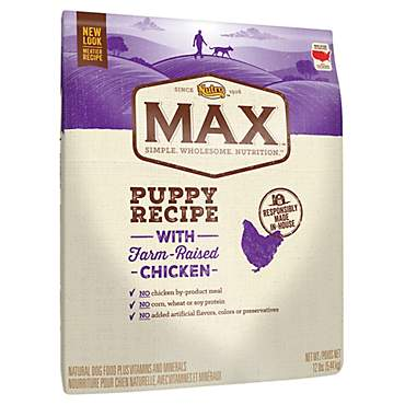 Nutro Max With Farm Raised Chicken Puppy Recipe Dry Dog Food