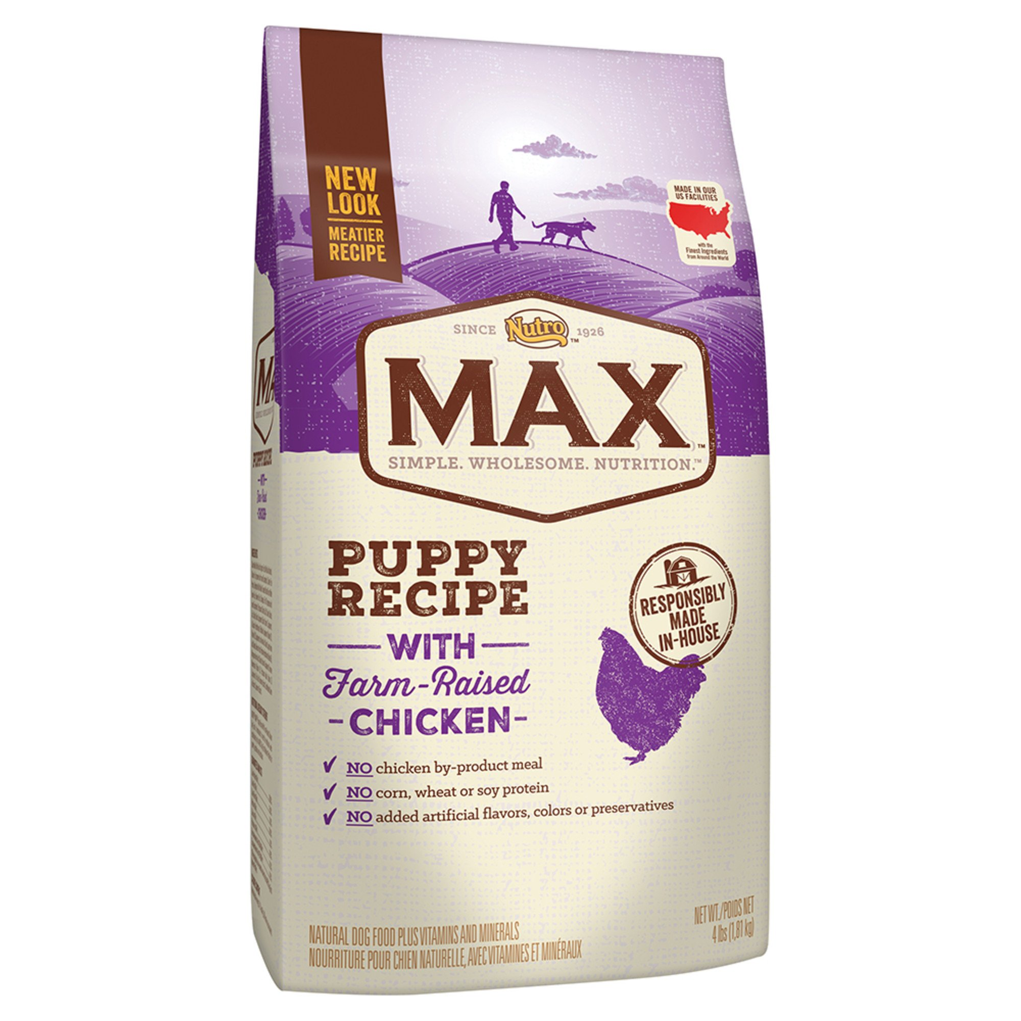 Nutro Max Dog Food Puppy