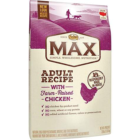 Nutro Max With Farm Raised Chicken Adult Recipe Dry Dog Food