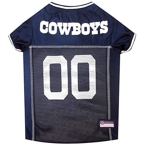 Pets First Dallas Cowboys NFL Mesh Pet Jersey