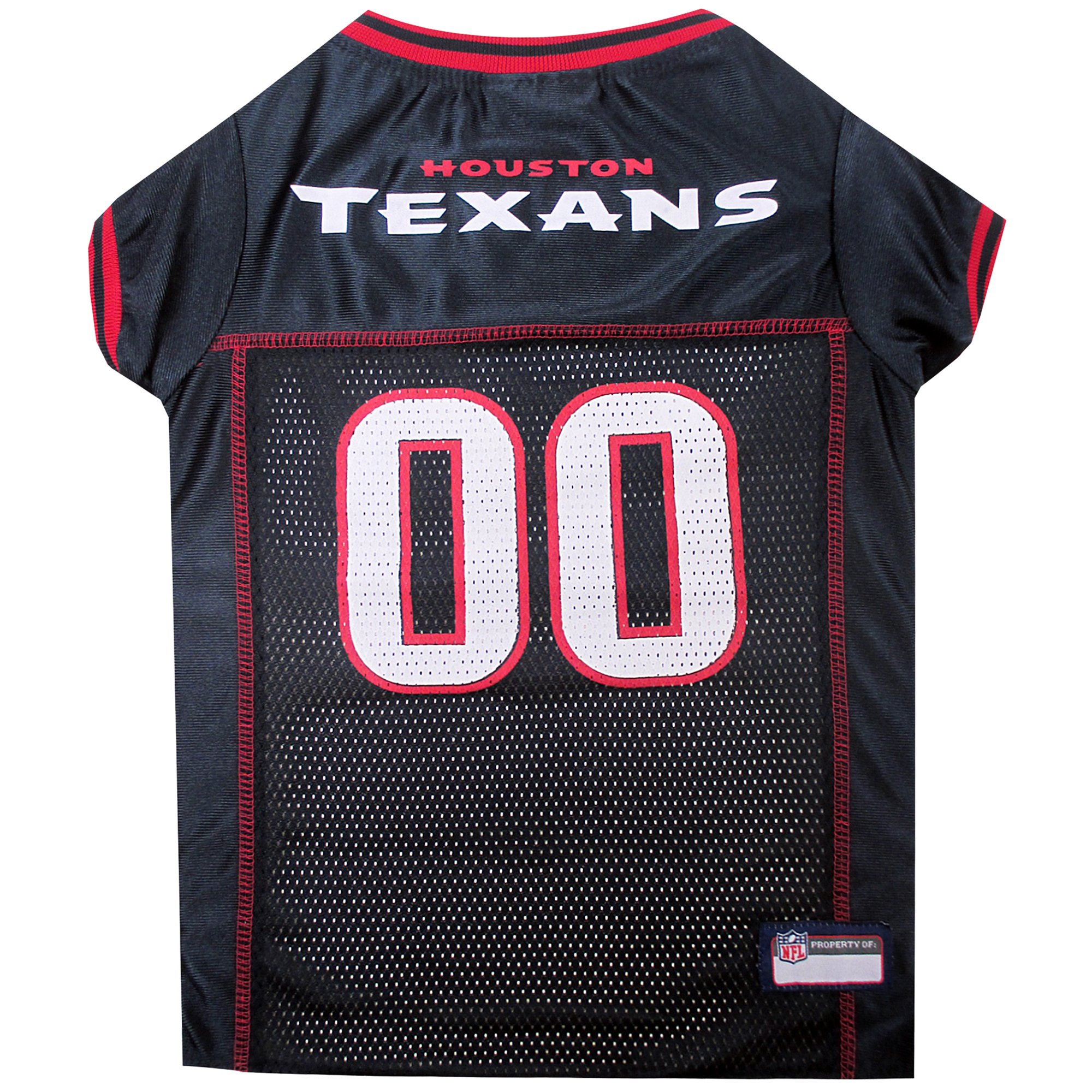 innovative design a668f f5dc5 Pets First Houston Texans NFL Mesh Pet Jersey, X-Small | Petco