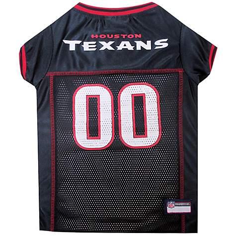 online retailer bfe98 7d374 Pets First Houston Texans NFL Mesh Pet Jersey, X-Small