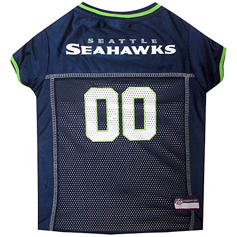 Pets First Seattle Seahawks NFL Mesh Pet Jersey