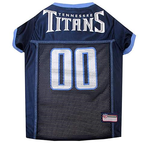 Pets First Tennessee Titans NFL Mesh Pet Jersey