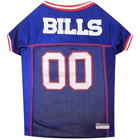 buy online a9a5f 75794 Pets First Buffalo Bills NFL Mesh Pet Jersey, X-Small
