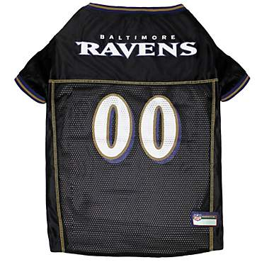 newest 0694c e06ab Pets First Baltimore Ravens NFL Mesh Pet Jersey, Medium