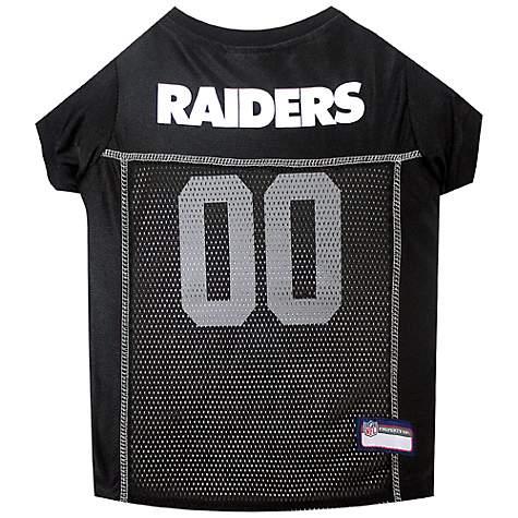 Pets First Oakland Raiders NFL Mesh Pet Jersey  3790d2b22