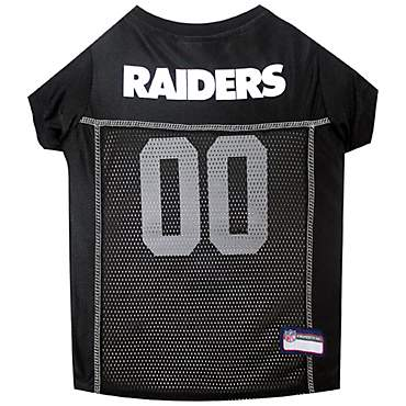Pets First Oakland Raiders NFL Mesh Pet Jersey