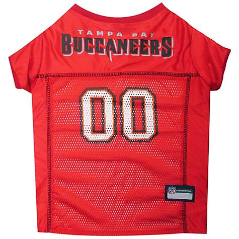 new concept 430c2 021e4 Pets First Tampa Bay Buccaneers NFL Mesh Pet Jersey, X-Small