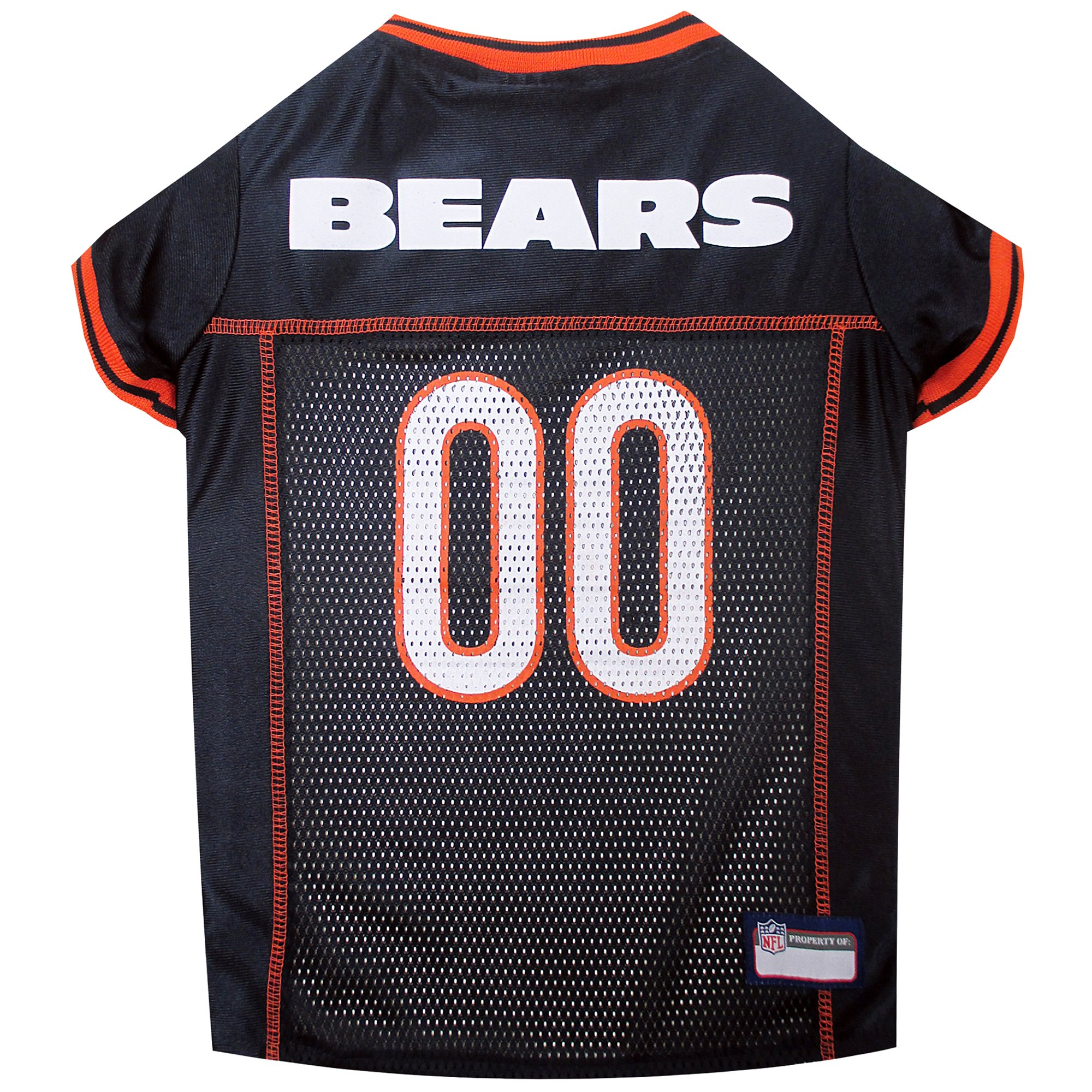 Pets First Chicago Bears NFL Mesh Pet Jersey  3cadf06ee