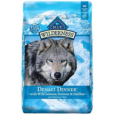 Blue Buffalo Blue Wilderness Denali Dinner With Wild Salmon Venison & Halibut Dry Dog Food