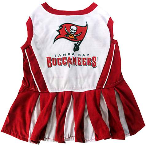 5aff9ada Pets First Tampa Bay Buccaneers NFL Cheerleader Outfit, X-Small