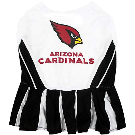 Pets First Arizona Cardinals NFL Cheerleader Outfit