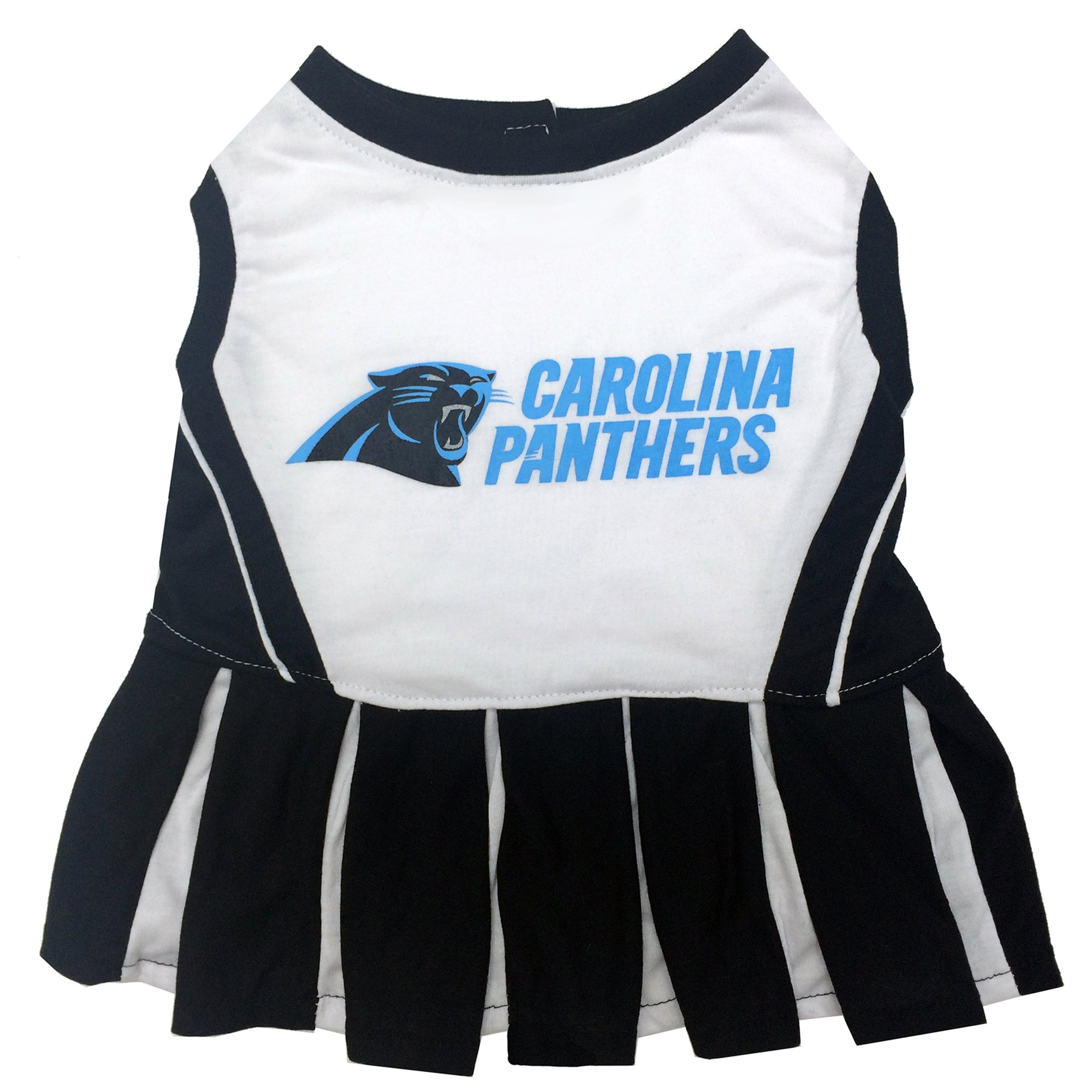 Pets First Carolina Panthers NFL Cheerleader Outfit  9541635a4