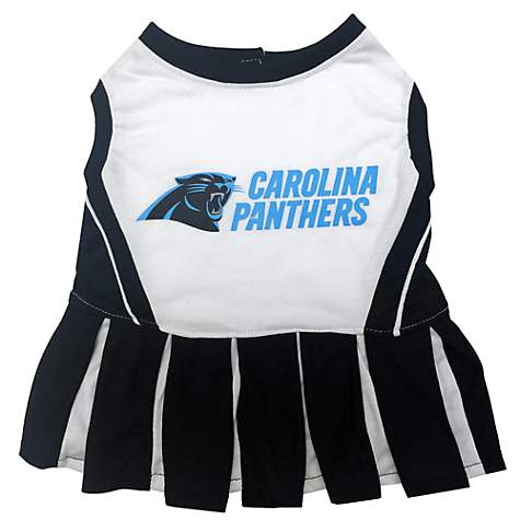 Pets First Carolina Panthers NFL Cheerleader Outfit  f27685b9e