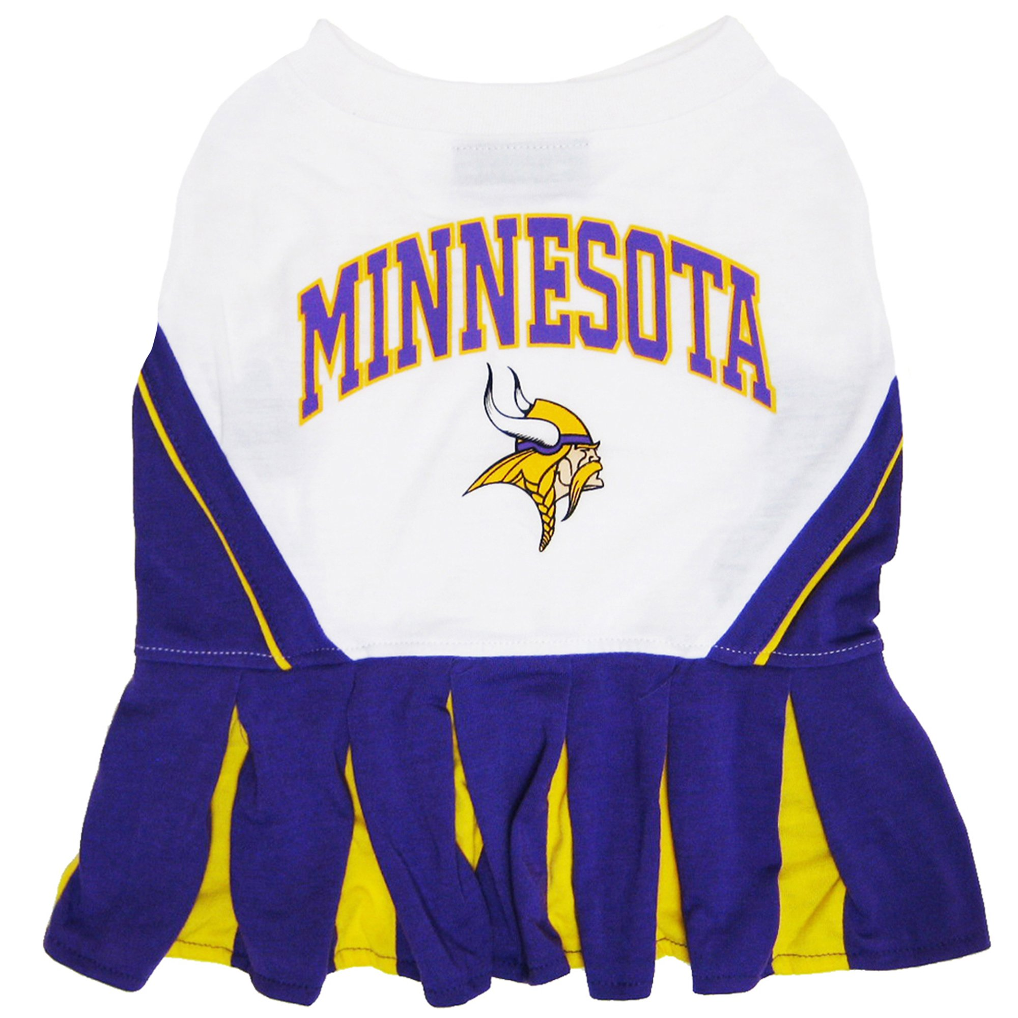 Pets First Minnesota Vikings Nfl Cheerleader Outfit X Small Petco