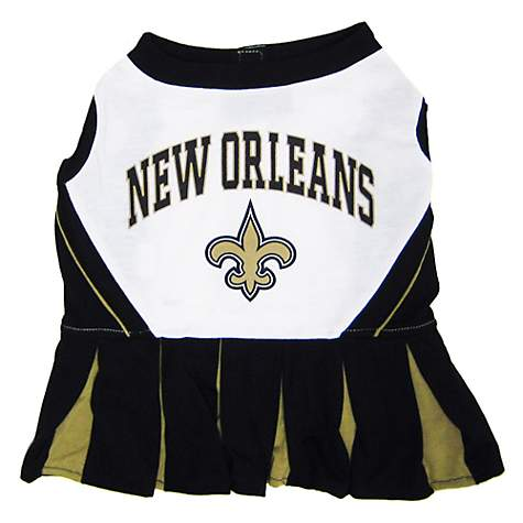 a8c9fa99414 Pets First New Orleans Saints NFL Cheerleader Outfit | Petco