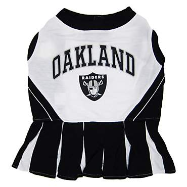 Pets First Oakland Raiders NFL Cheerleader Outfit