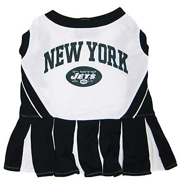 Pets First New York Jets NFL Cheerleader Outfit