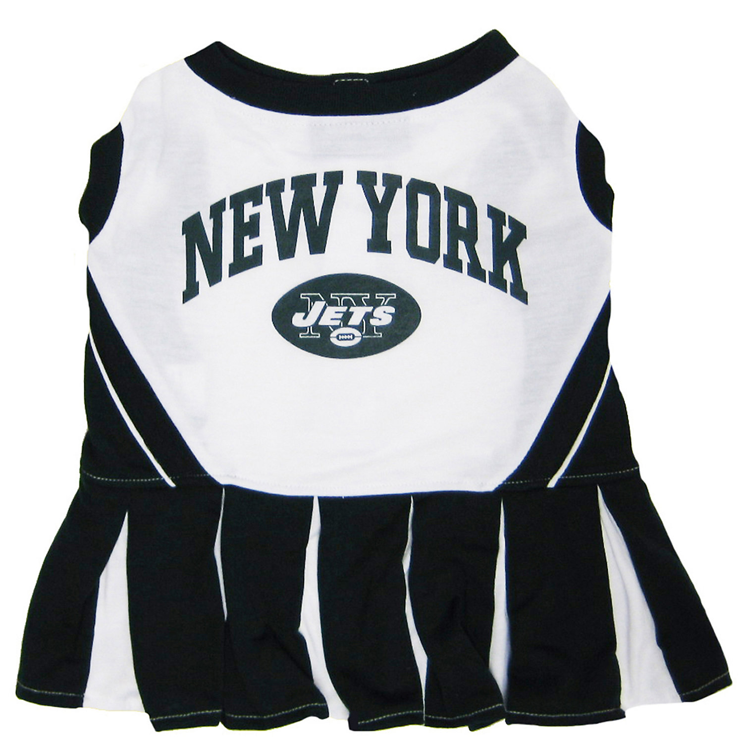 Pets First New York Jets Nfl Cheerleader Outfit Extra Small X Small Green