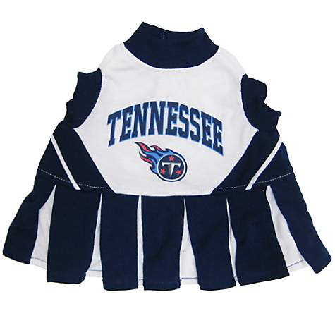 a097a56c Pets First Tennessee Titans NFL Cheerleader Outfit, X-Small