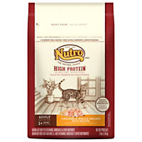 NUTRO High Protein Chicken and Whole Brown Rice Adult Dry Cat Food for Finicky Felines