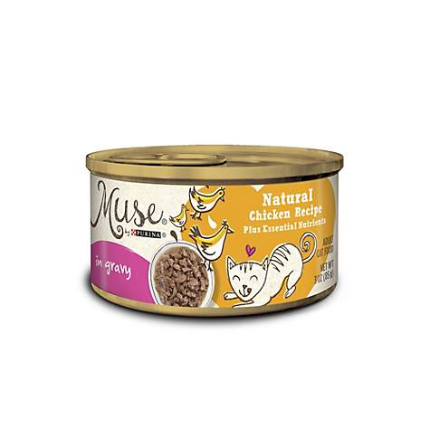 Muse by purina natural chicken recipe in gravy cat food petco muse by purina natural chicken recipe in gravy cat food forumfinder Images