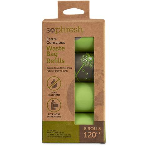 so phresh earth conscious dog waste bag refills - Dog Waste Bags