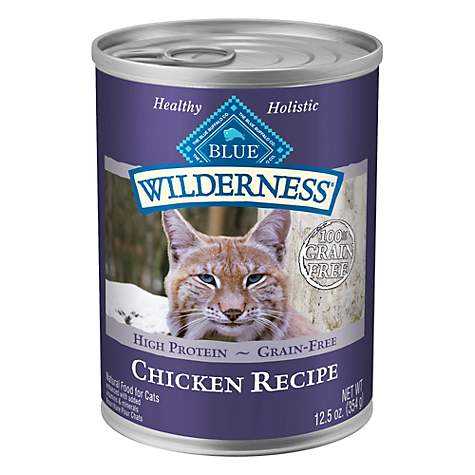 Blue Buffalo Blue Wilderness Chicken Canned Cat Food 5 5