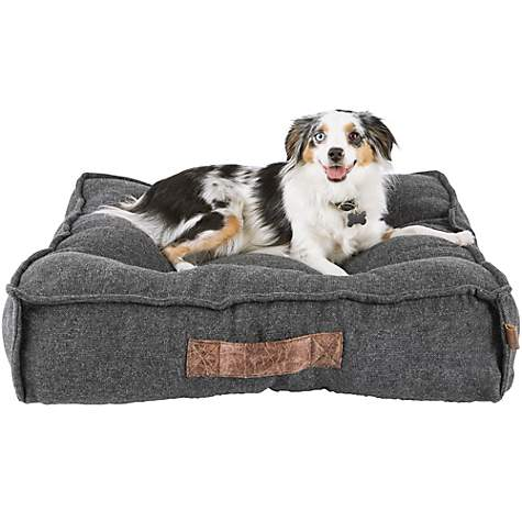 Pillow Top Memory Foam Dog Bed