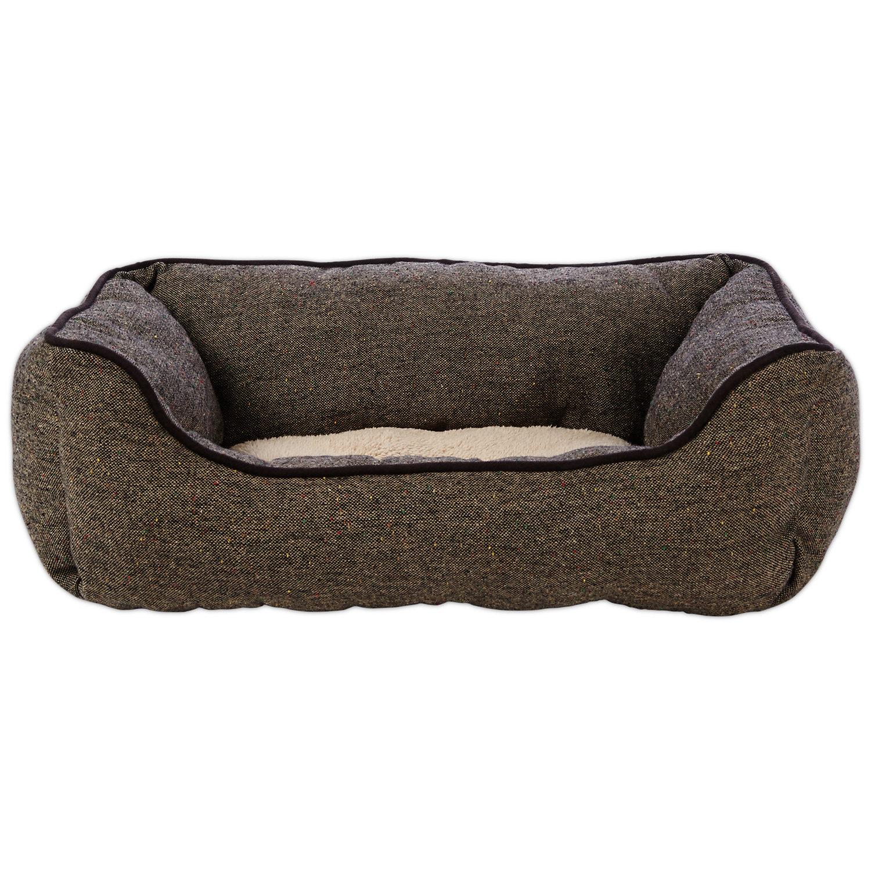 Harmony Grey Nester Orthopedic Dog Bed 40 x 30 Gray