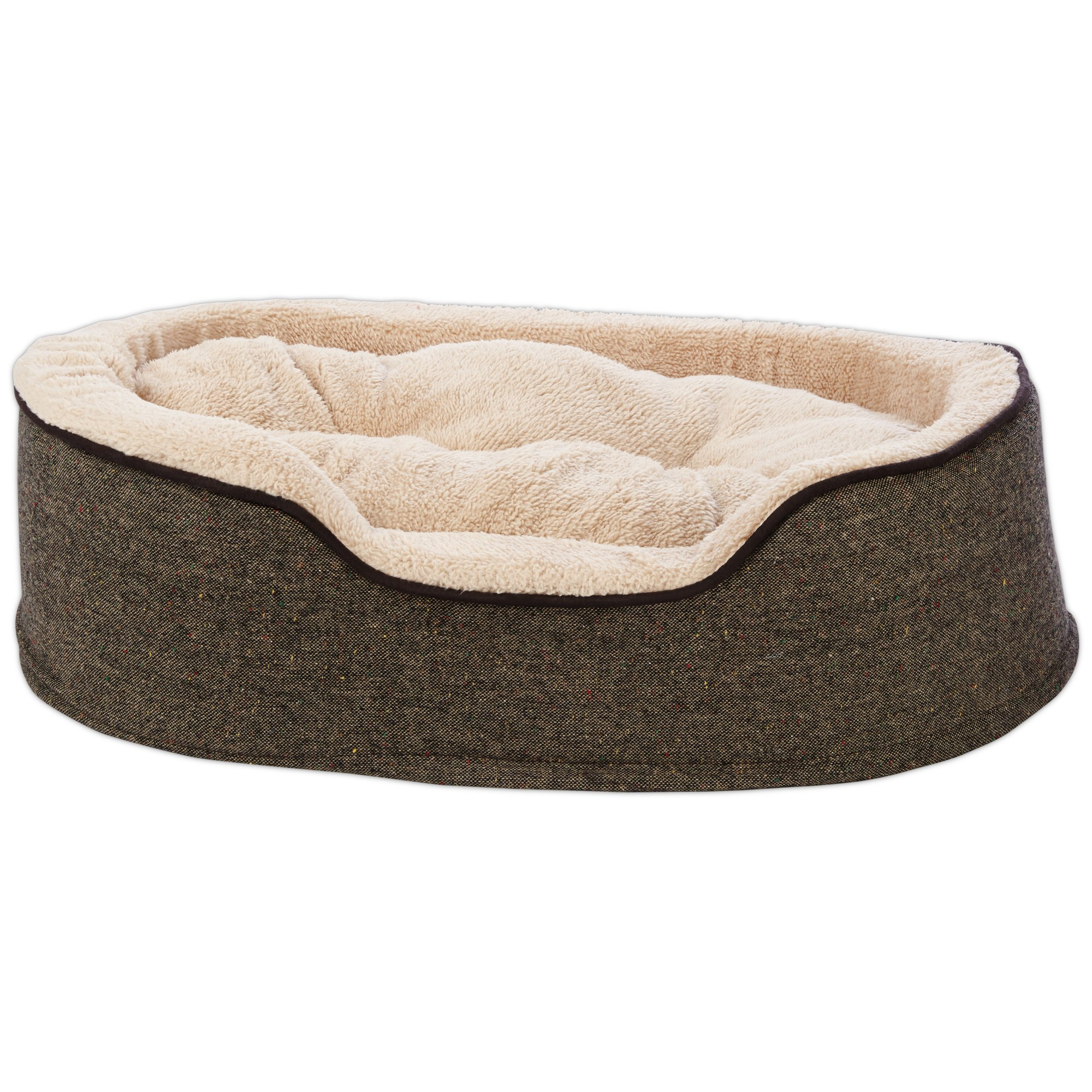 shop harmony bed beds en center petco petcostore lounger dog blue product striped