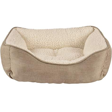 Harmony Khaki Nester Dog Bed