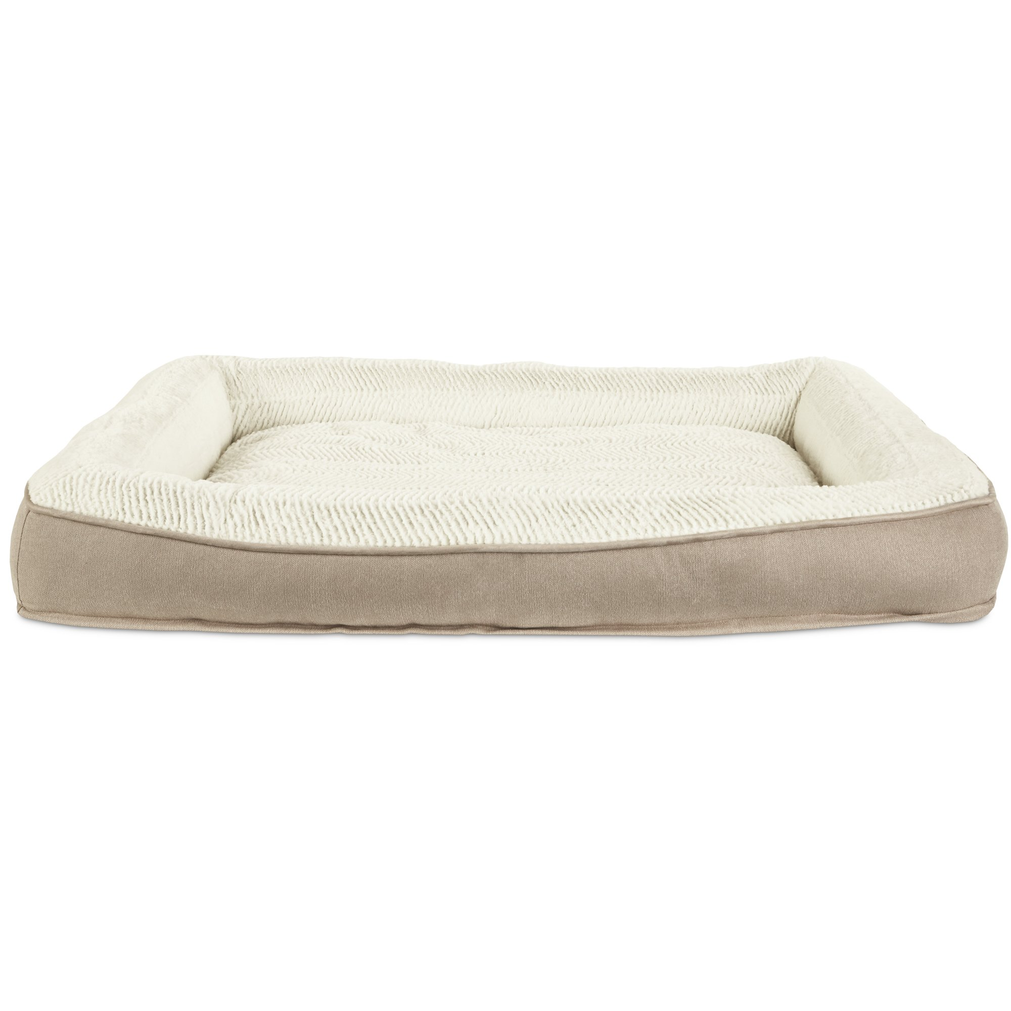 pin petcostore wall side petco com shop en beds bed brown cream box product dog super supplies in cushiony